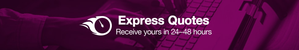 Express Quotes. Receive yours in 24-348 hours.