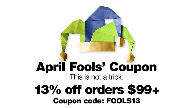 April Fools' Coupon.