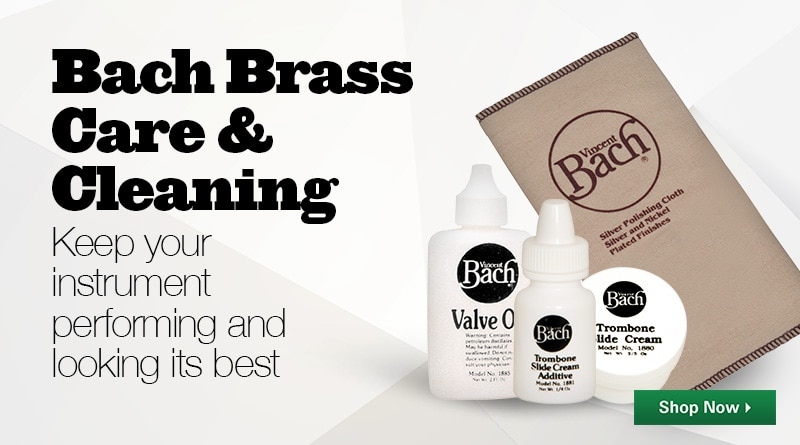 Bach brass care and cleaning.