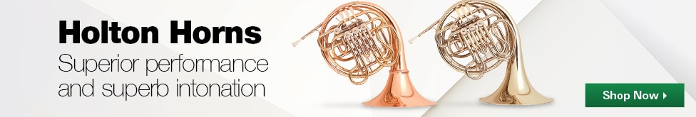 Holton Horns, superior performance and superb intonation