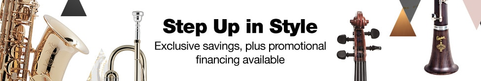 Step up in style, exclusive savings, plus promotional financing available