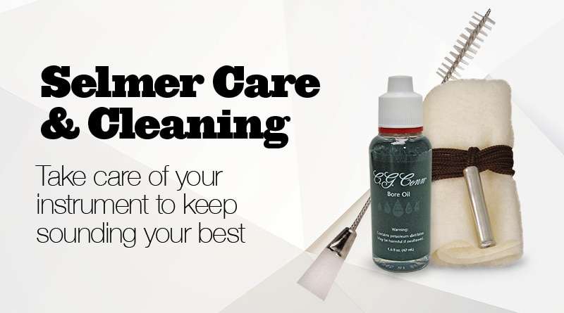 Selmer care and cleaning.