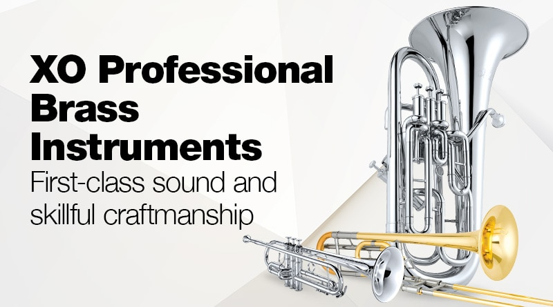 XO professional brass instruments.
