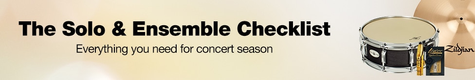The solo and ensemble checklist, everything you need for concert season.