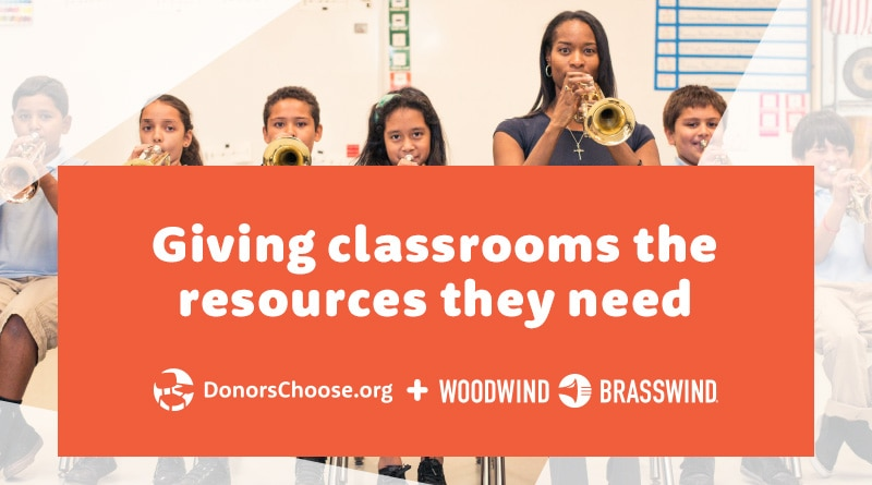 Giving classrooms the resources they need