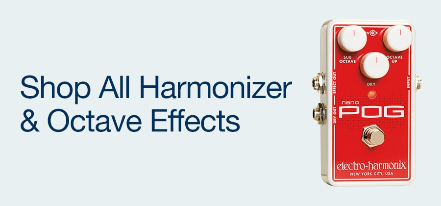 Shop All Harmonizer & Octave Effects