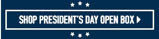 Presidents day open box deals.