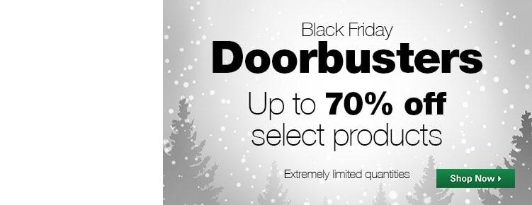 Black Friday Doorbusters