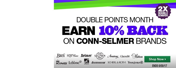 Double Points Month