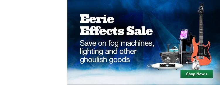 Eerie Effects Sale
