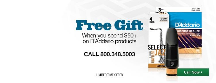 Free DAddario Gift