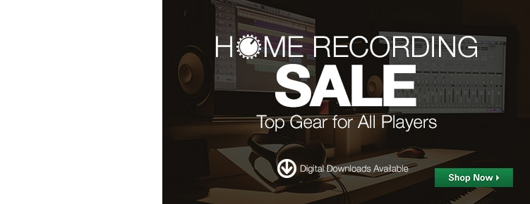 Home Recording Sale