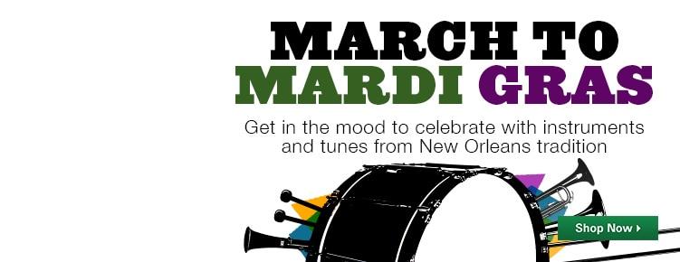 March to Mardi Gras