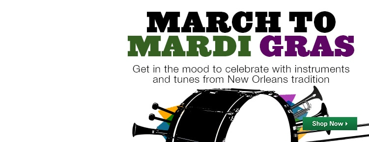 March to Mardi Gras