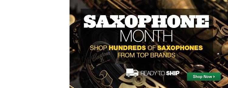 Saxophone Month