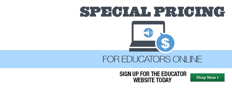 Special Pricing for Educators