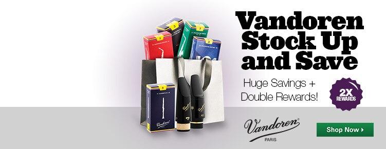 Vandoren Stock Up Save