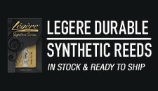 Legere Synthetic Reeds