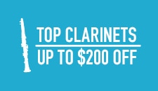 Top Clarinets Up to 200 Off