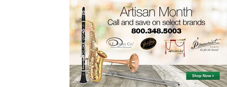 Artisan Month Call and Save