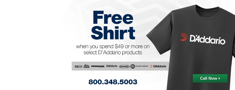 Free D'Addario Gift