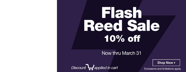 Flash Reed Sale