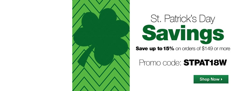 St. Patrick's Day Coupon