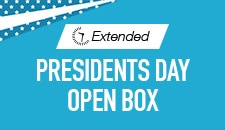 Presidents Day Open Box-Extended