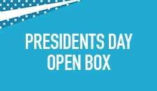 Presidents Day Open Box