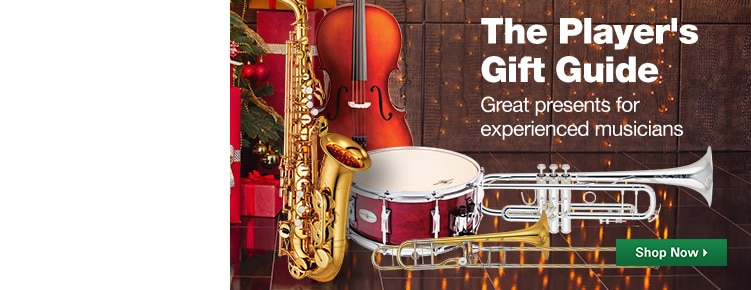 The Player's Gift Guide | Great presents for experienced musicians | Shop Now