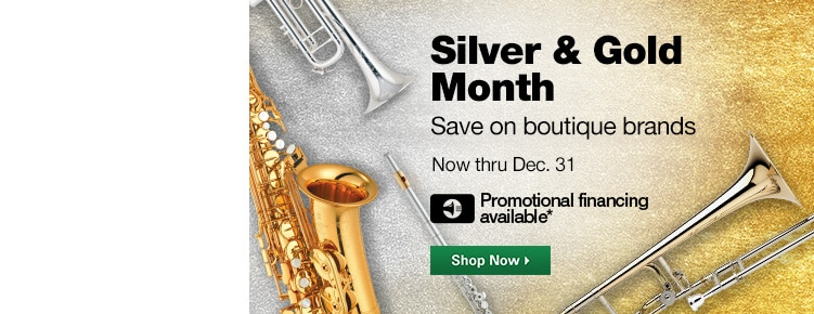 Silver & Gold Month | Save on boutique brands Now through December 31st | Promotional financing availavle | Shop Now