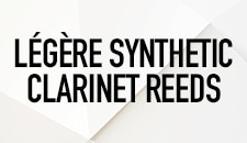 Legere Synthetic Clarinet Reeds