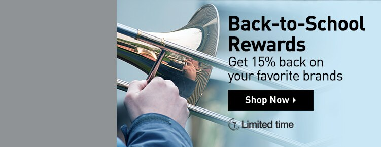 Back-to-School Rewards. Get 15 percent back on your favorite brands. Shop now. Limited time.