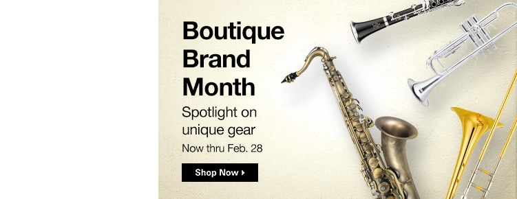 Boutique Brand Month | Spotlight on unique gear Now through February 28th | Shop Now