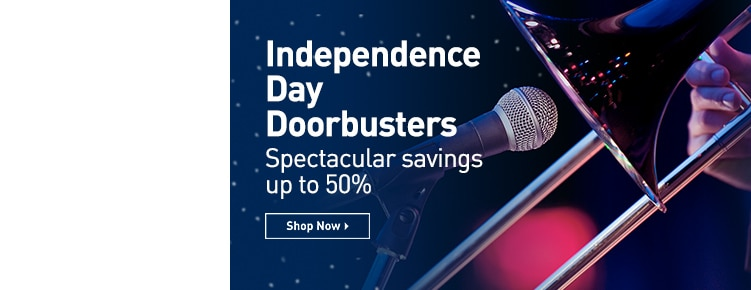 Independence Day Doorbusters. Spectacular savings up to 50%. Shop Now.