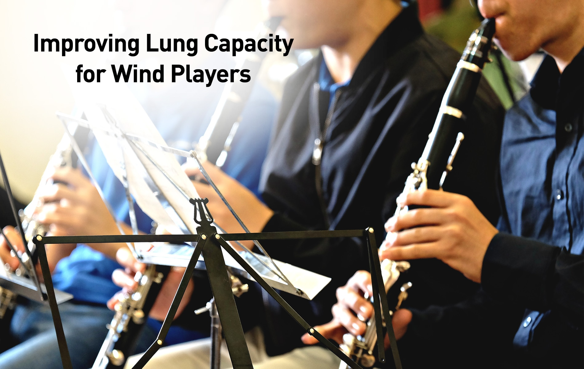 Improving Lung Capacity for Wind Players
