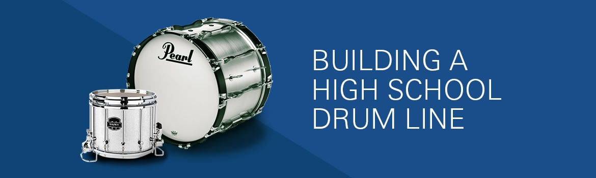 Building a High School Drum Line : The Music Room