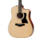 Taylor 100 Series 2017 110ce Rosewood Dreadnought Acoustic-Electric Guitar